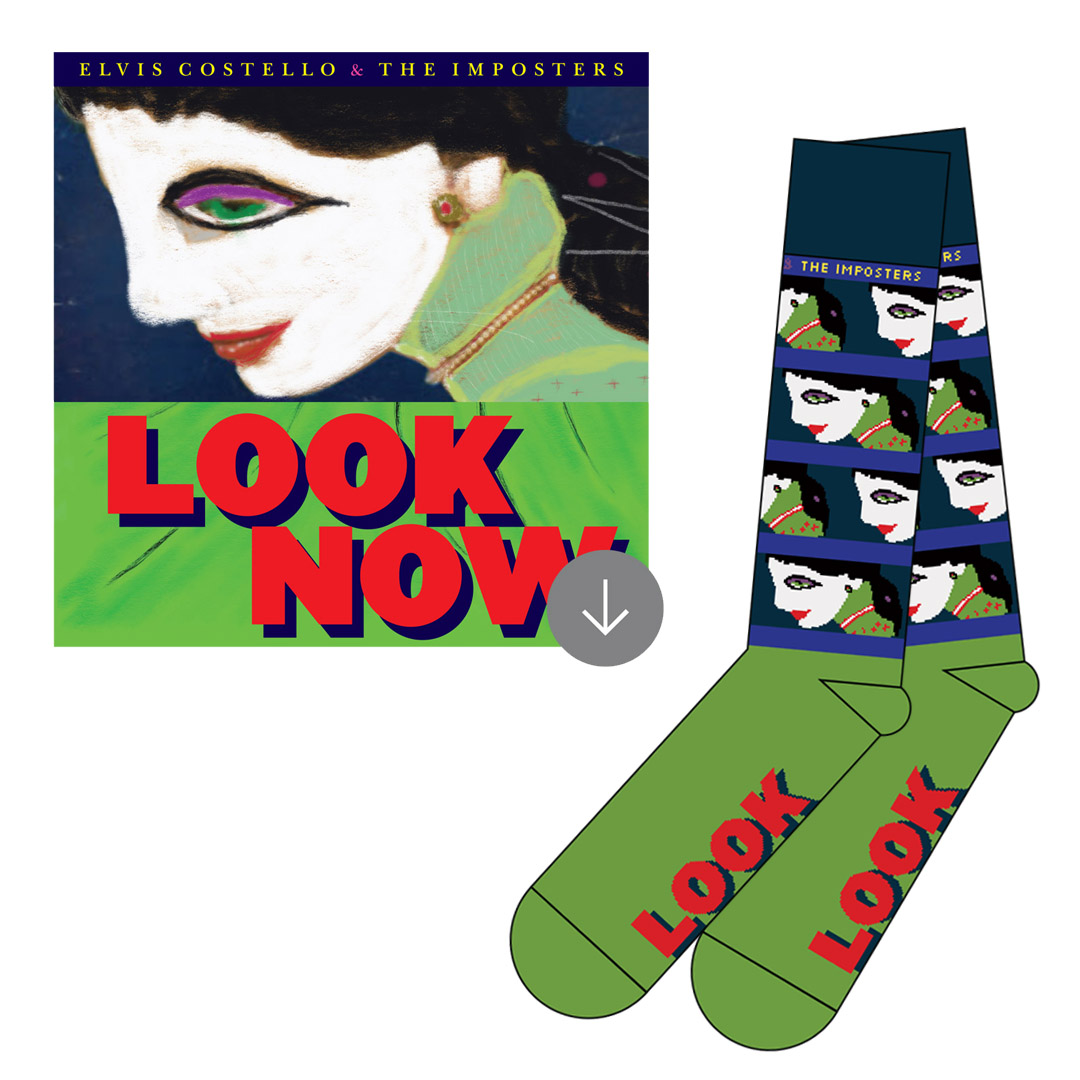 Custom Socks + Deluxe Album Download (optional bundle)