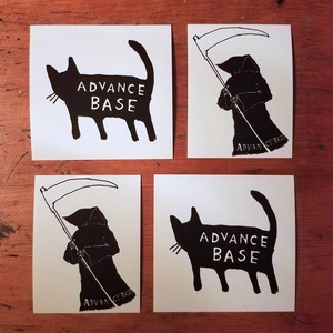 ADVANCE BASE sticker pack