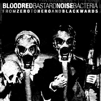 BASTARD NOISE / BLOODRED BACTERIA LP