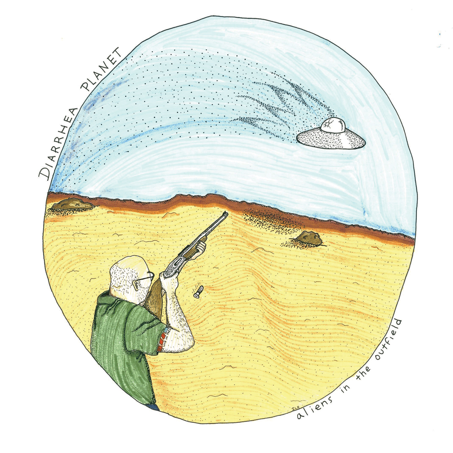 "Diarrhea Planet ""Aliens in the Outfield"" 10"" EP ON SALE NOW!"