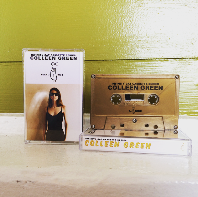 Infinity Cat Cassette Series: Colleen Green CASSETTE SALE!