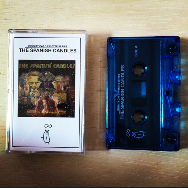 Infinity Cat Cassette Series: The Spanish Candles CASSETTE SALE!