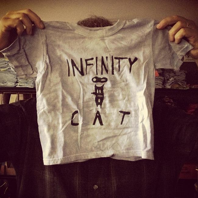 Infinity Cat Artisan T-Shirt