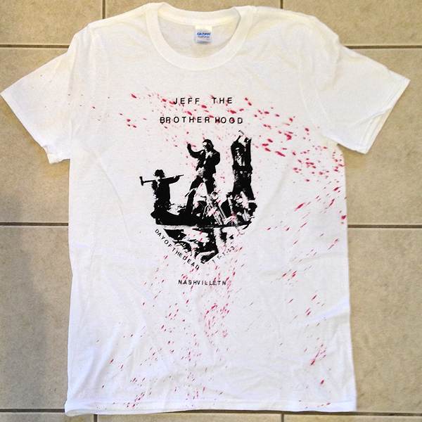 JEFF The Brotherhood Day of the Dead T-Shirt NOW ON SALE!
