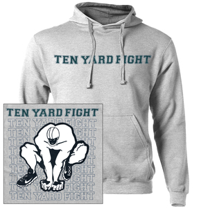Ten Yard Fight 'Repeating Logo' Pullover Sweatshirt