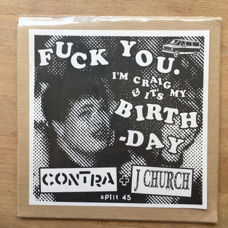 J CHURCH / CONTRA