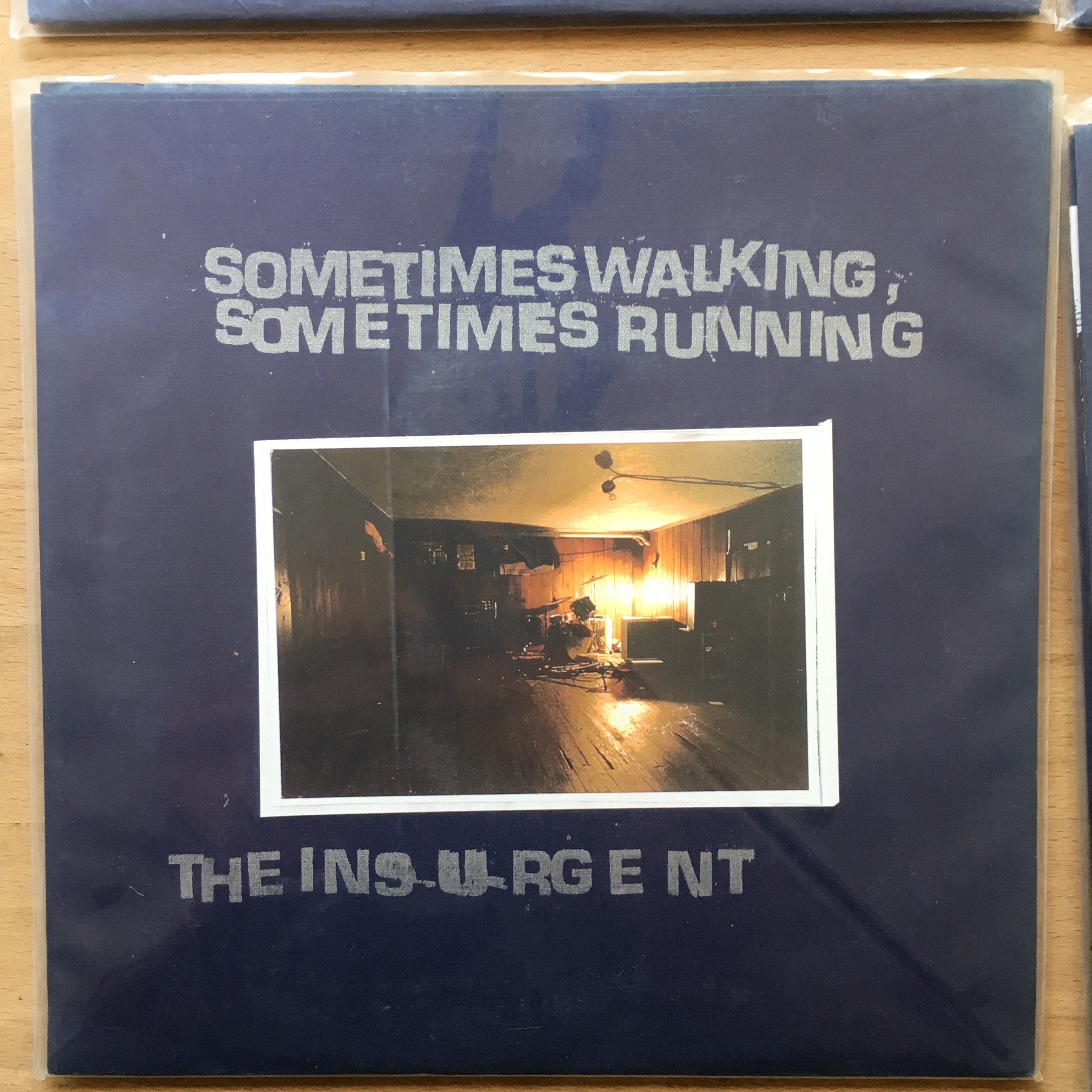 THE INSURGENT / SOMETIMES WALKING, SOMETIMES RUNNING split 7