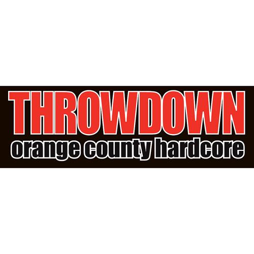 Throwdown Sticker