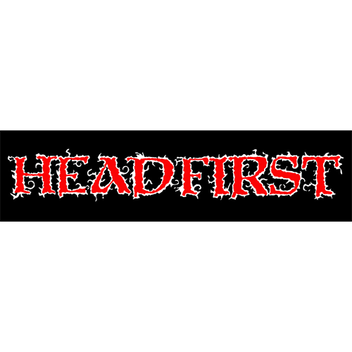 Headfirst Sticker
