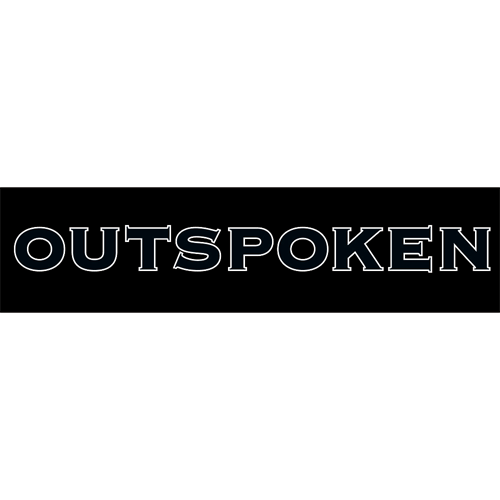 Outspoken Sticker