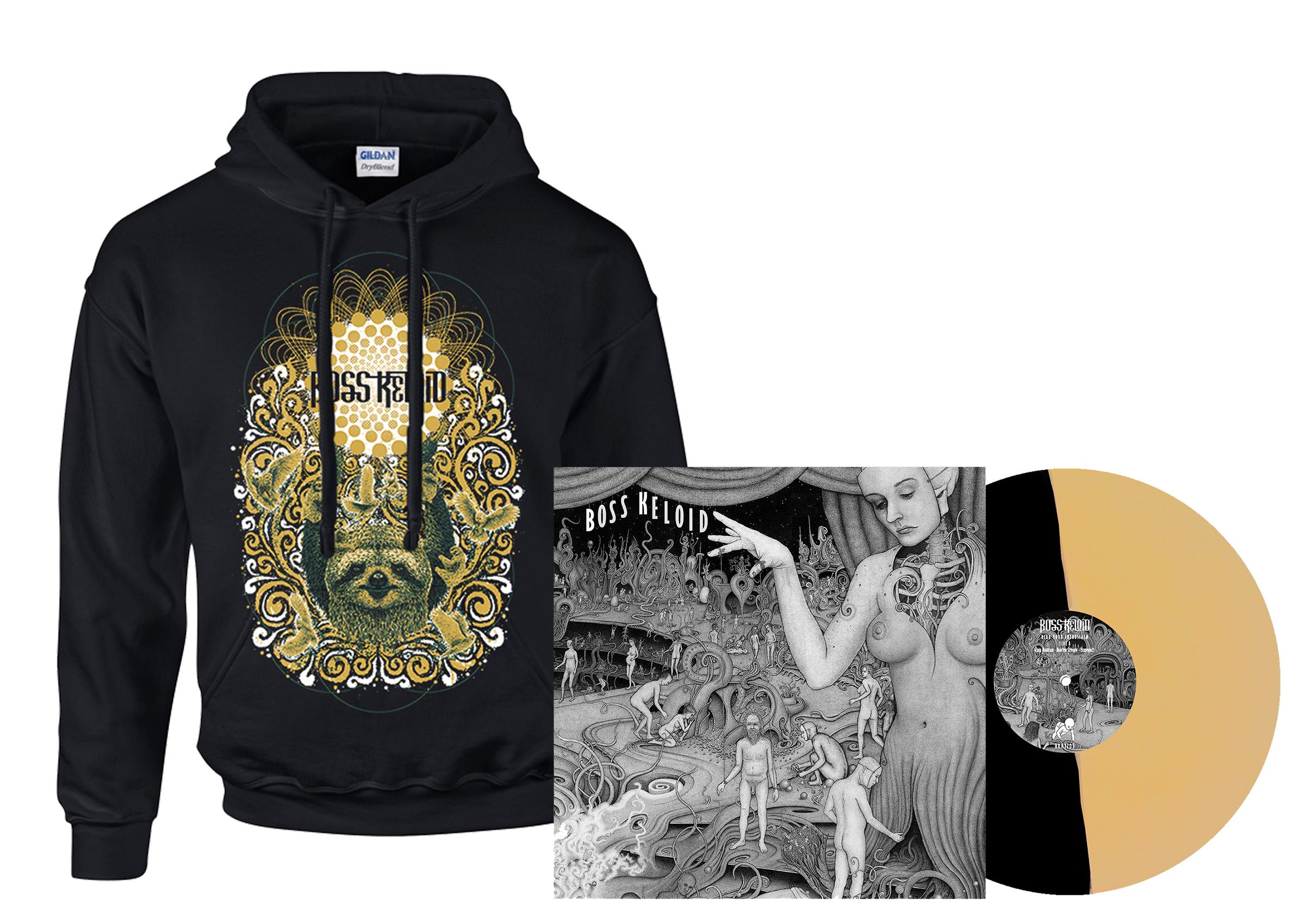 Boss Keloid - Herb Your Enthusiasm hoodie + 2xLP PREORDER