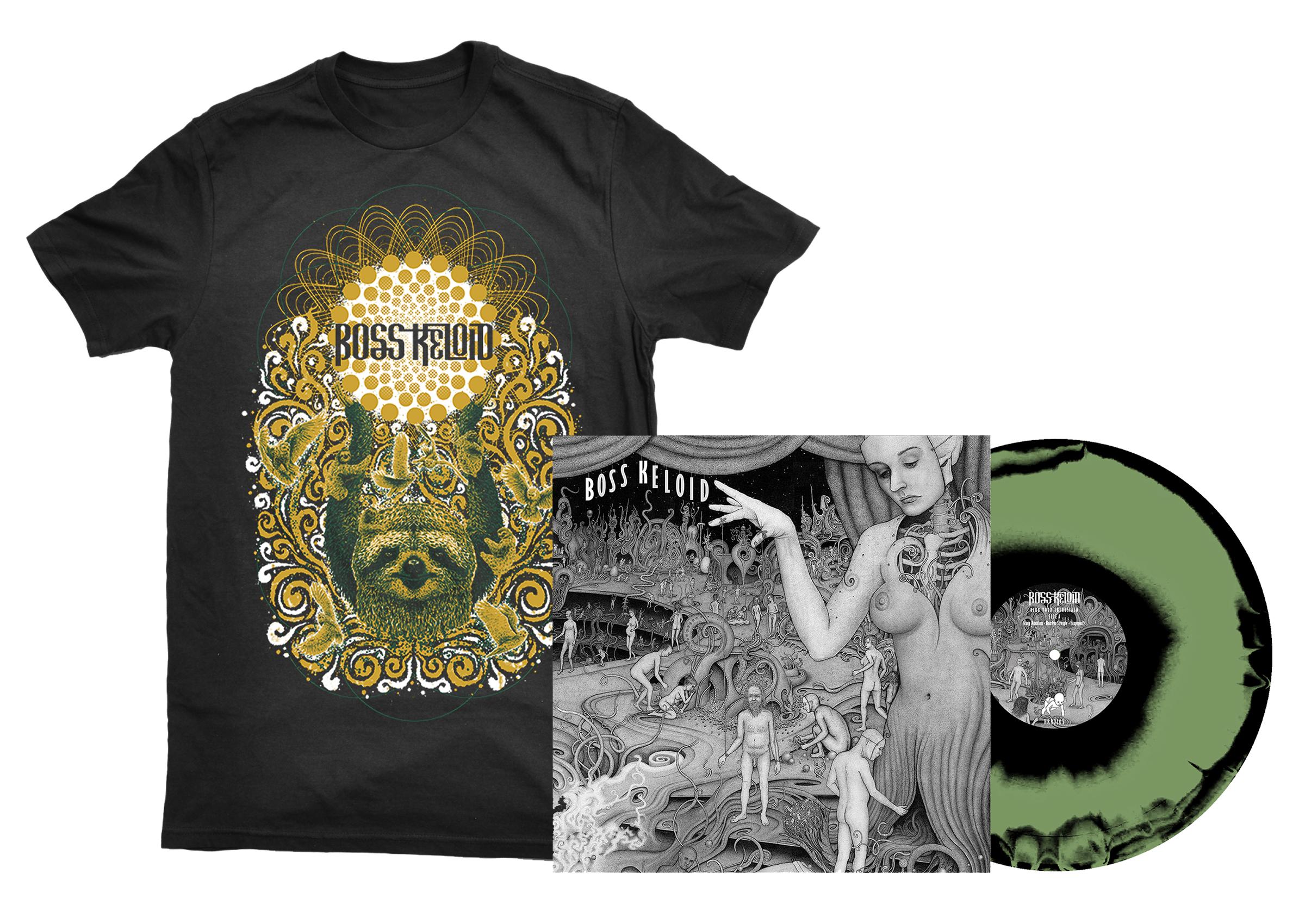 Boss Keloid - Herb Your Enthusiasm shirt + 2xLP PREORDER