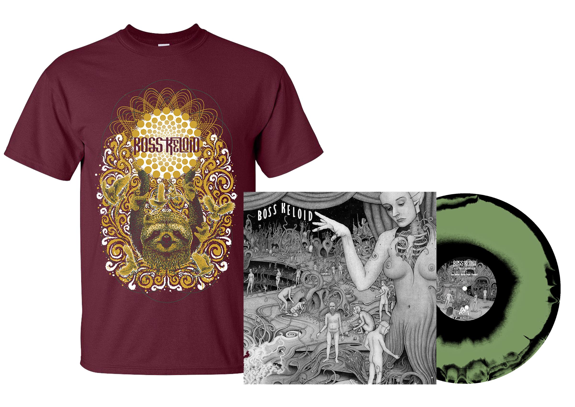 Boss Keloid - Herb Your Enthusiasm shirt + 2xLP