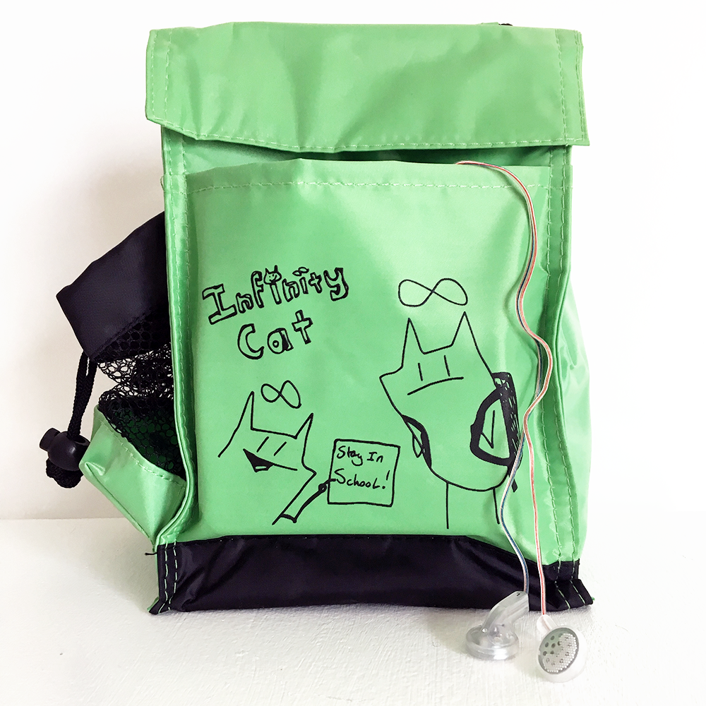 Infinity Cat Snack Attack Lunch Bag PRICE CUT 50%!