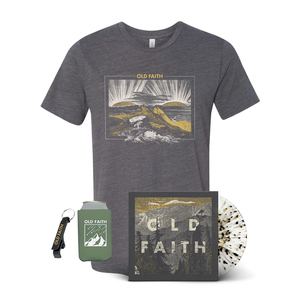 Old Faith - Vinyl + T-shirt + Koozie Bundle