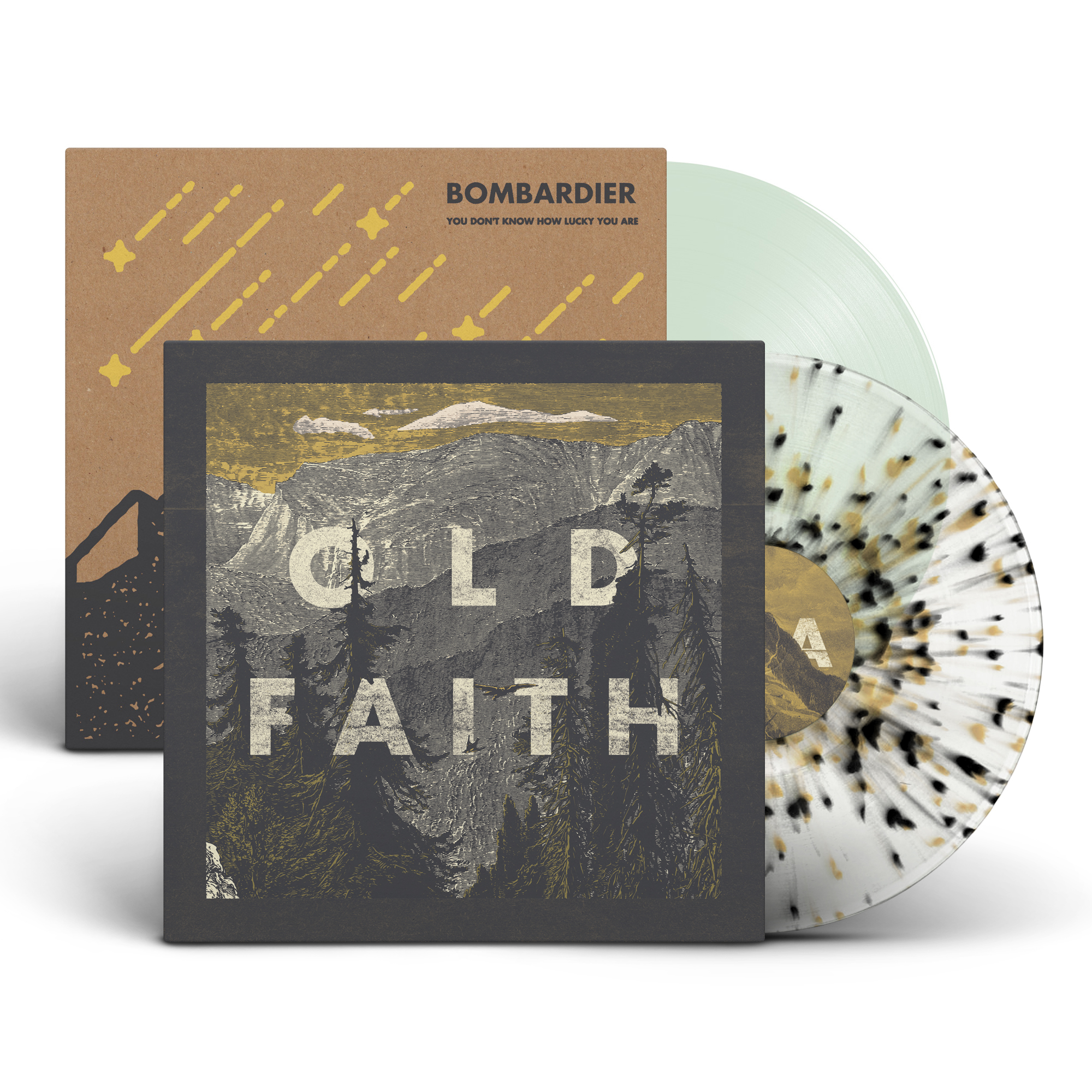 Old Faith & Bombardier - Vinyl Bundle