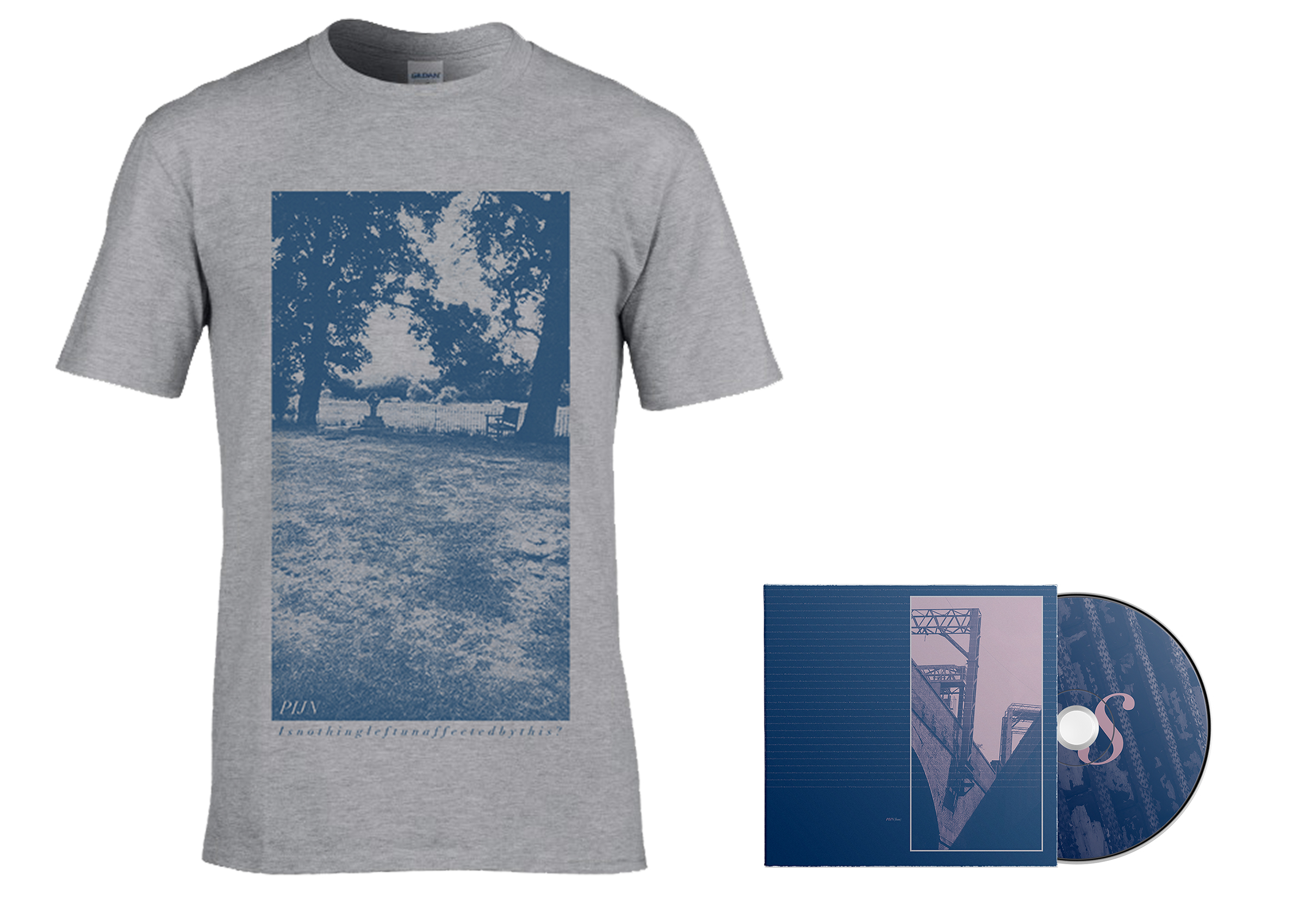 Pijn - Loss grey shirt + CD