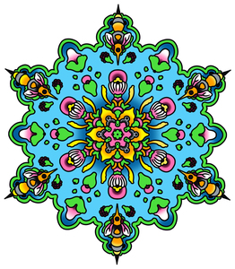 Nick's Cute Mandala Sticker
