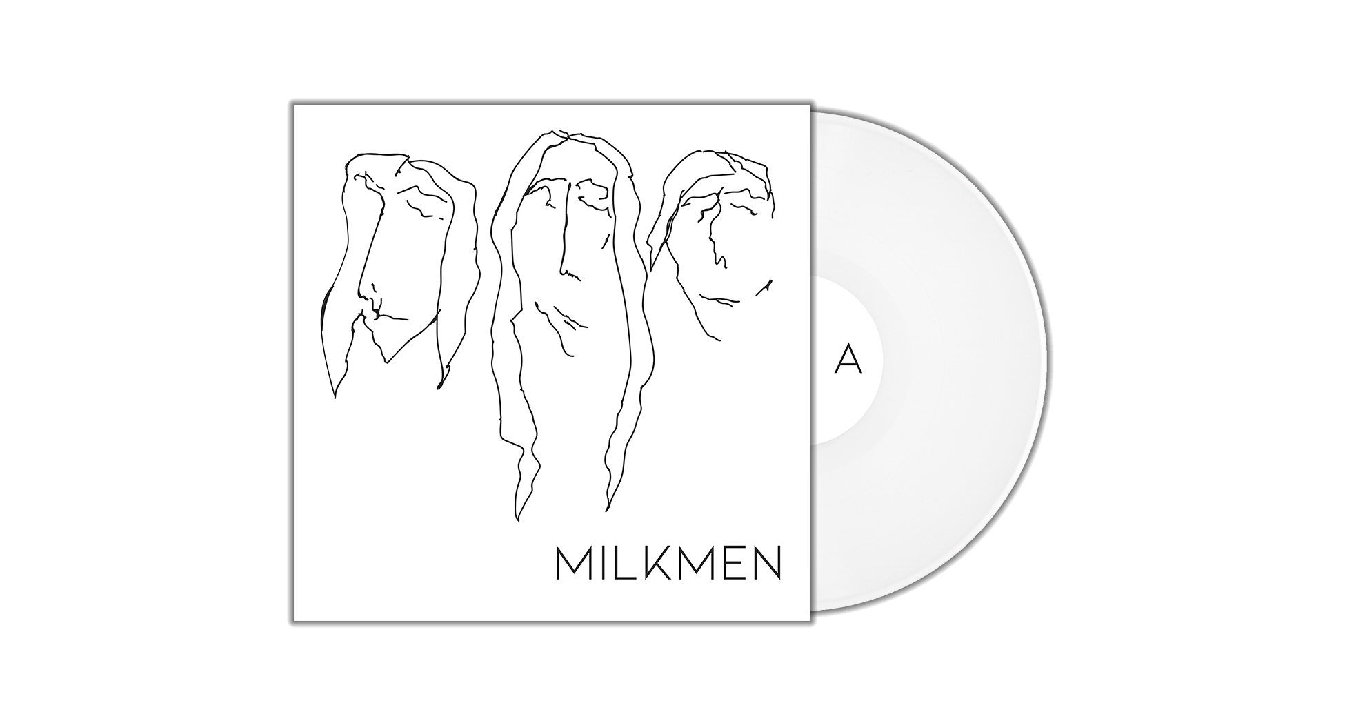 Milkmen // S/T LP // Shirt Bundle