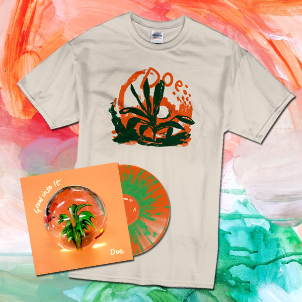 Doe – Grow into It – LP/CD/T-Shirt Bundle