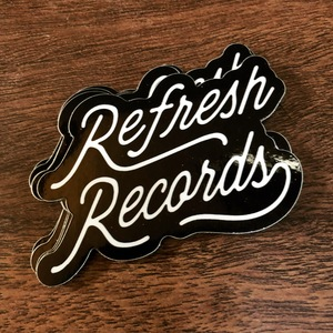 Refresh Records - Script Sticker