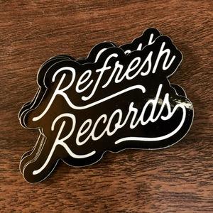 Refresh Records - Script Sticker