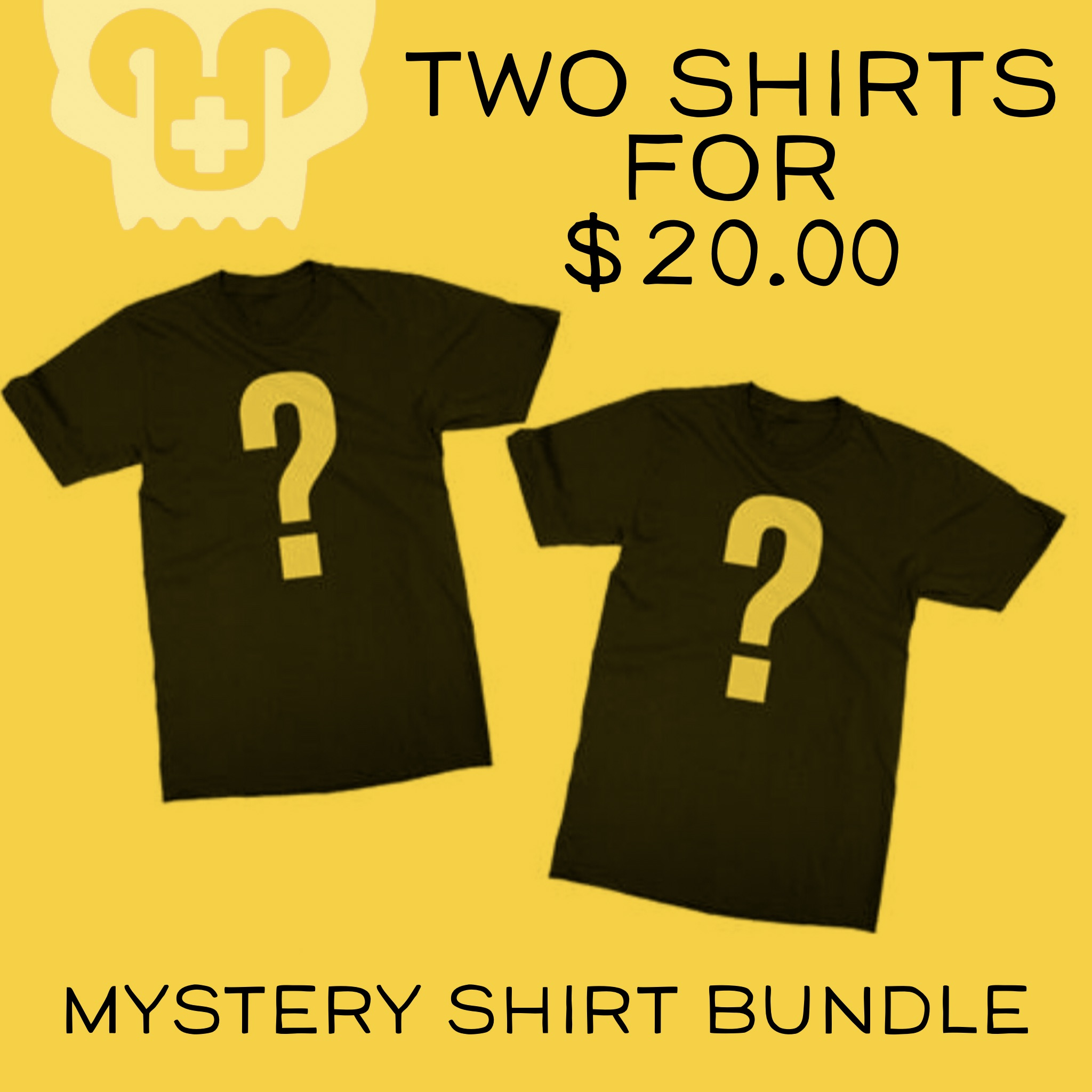 Mystery T-shirt Bundle!  2 for $20.00