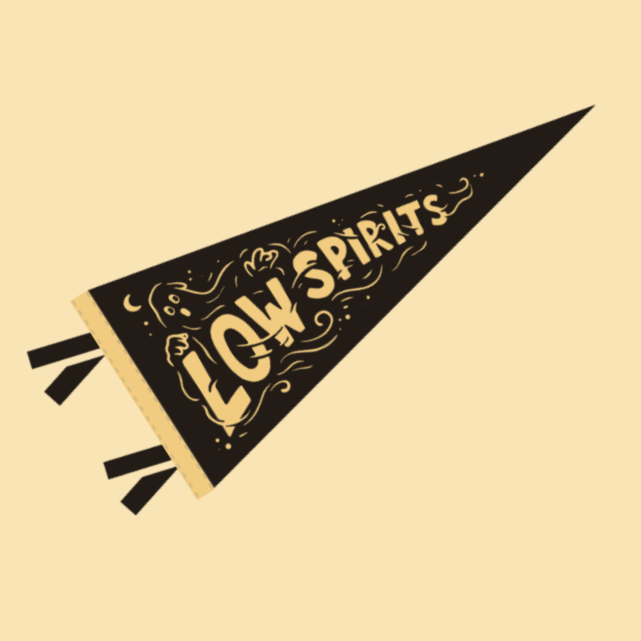 LOW SPIRITS MINI PENNANT