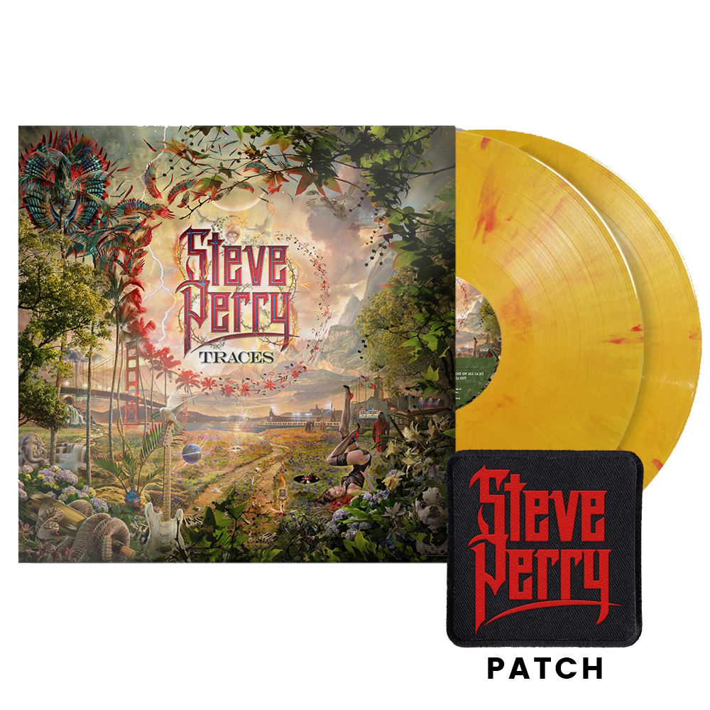 Deluxe Vinyl 2xLP (fire color) + Patch