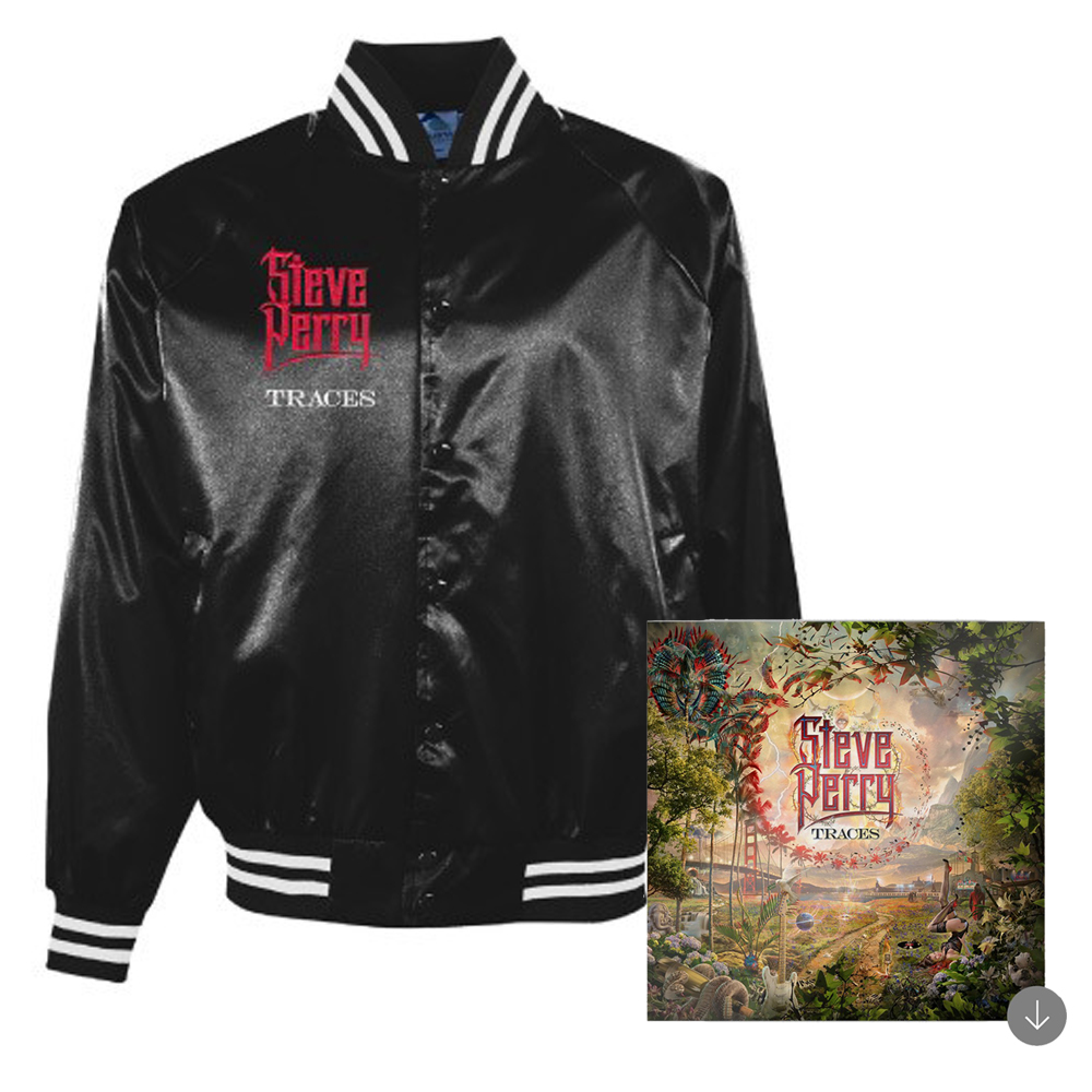 Embroidered Satin Jacket + Album Download
