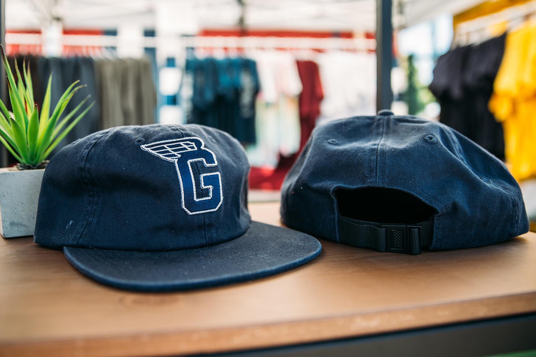Navy G Wing Hat