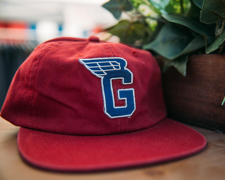 Maroon G Wing Hat
