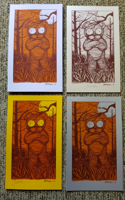 *New* 'My Other Self' Mini Art Print (Variants)