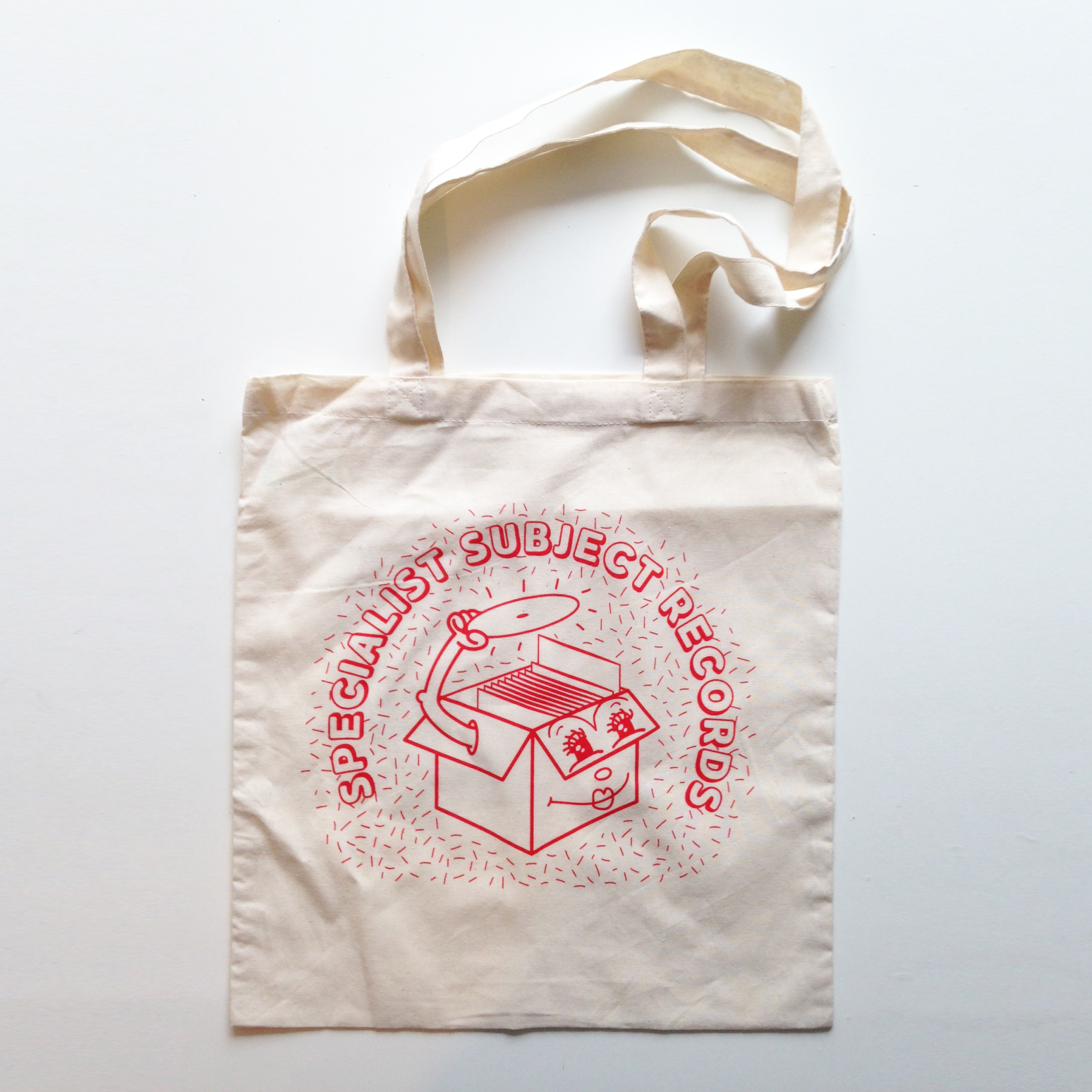 Specialist Subject Cratedigger - Tote Bag