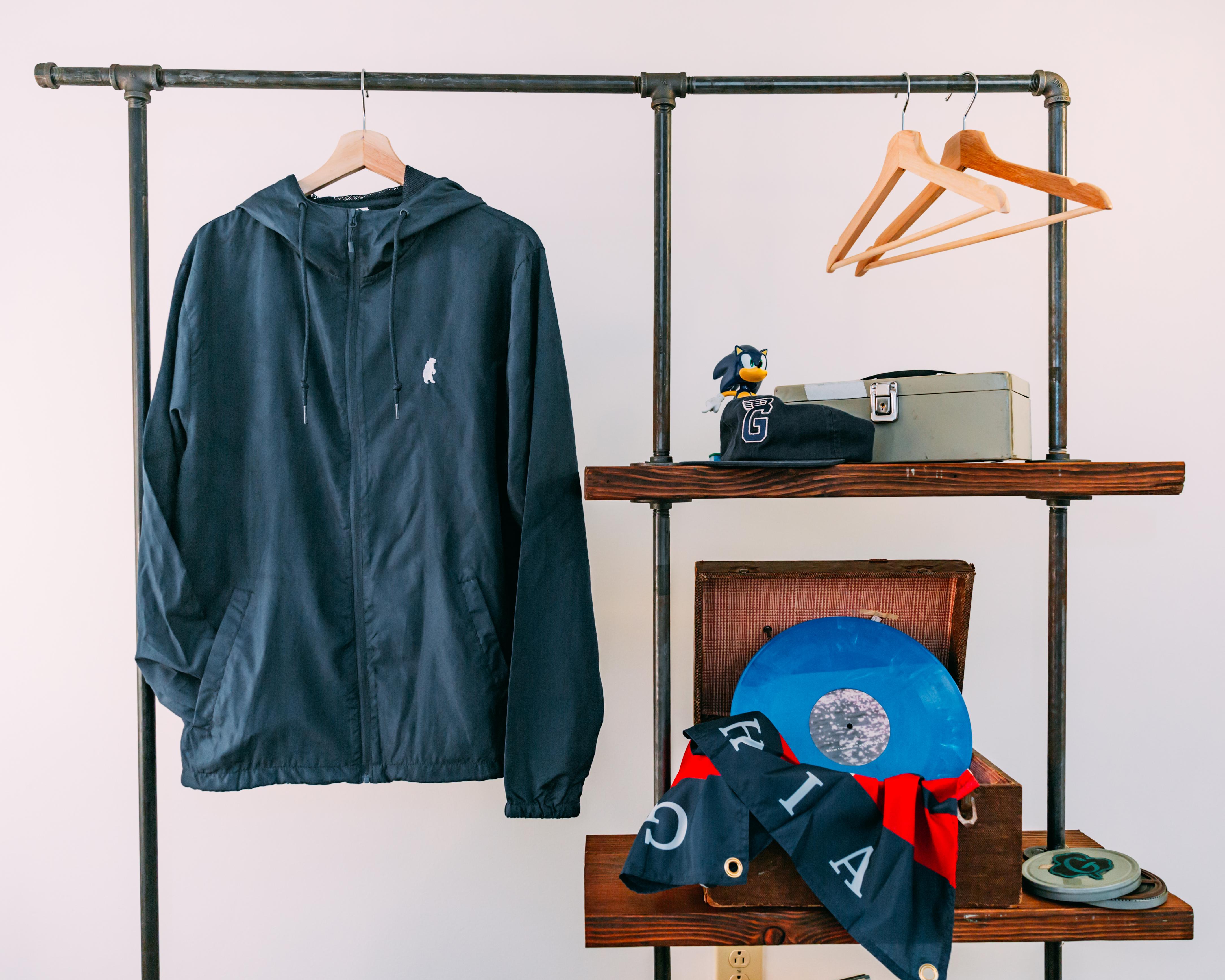 Bear Zip Up Jacket