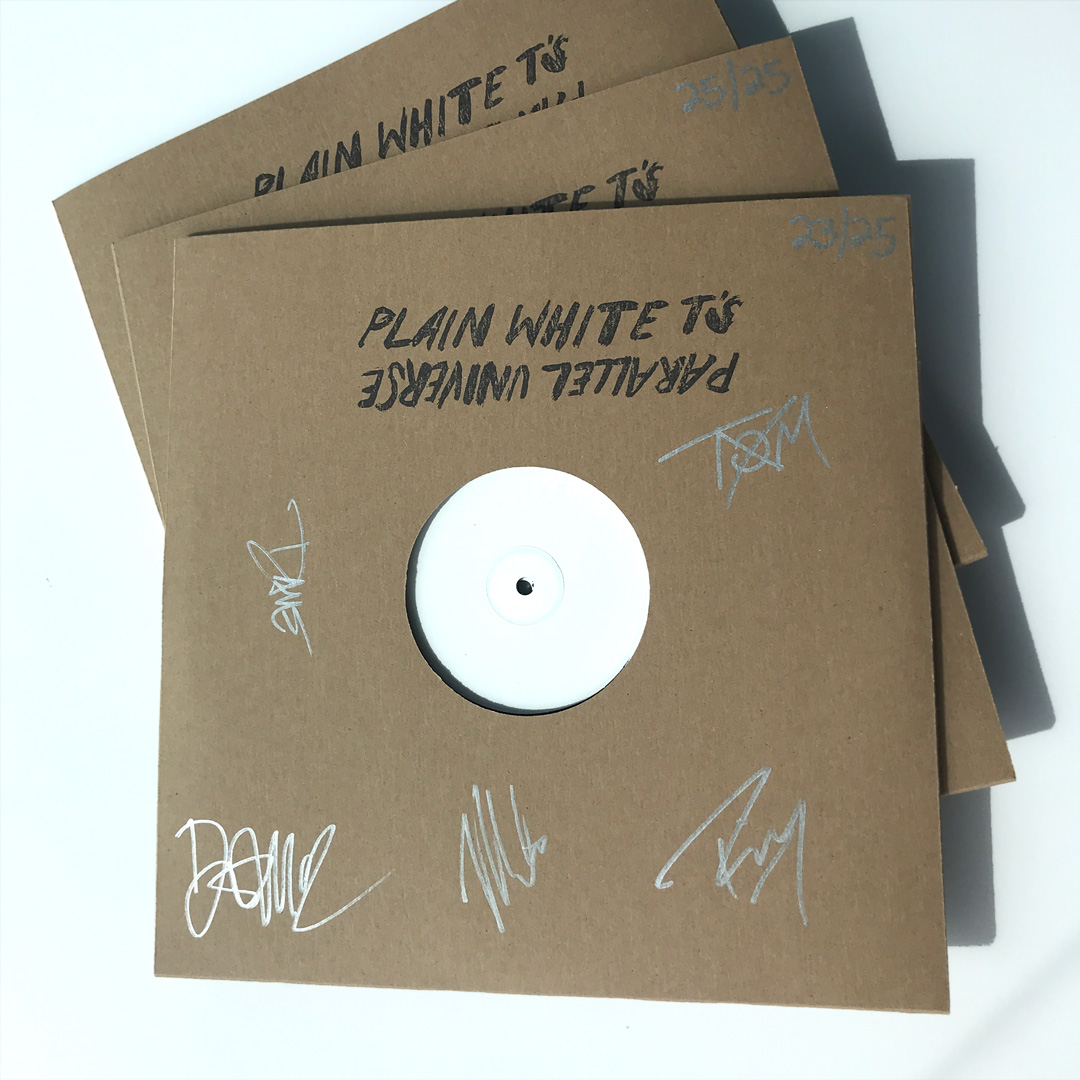 Signed & Numbered 2xLP Test Pressing Bundle
