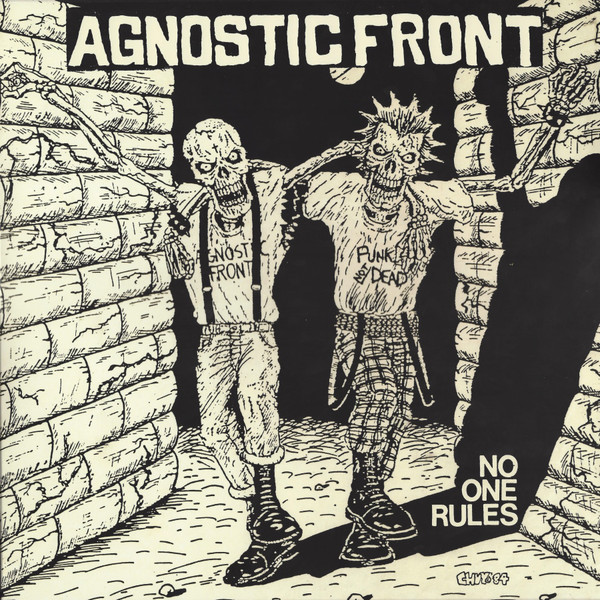 Agnostic Front - No One Rules LP