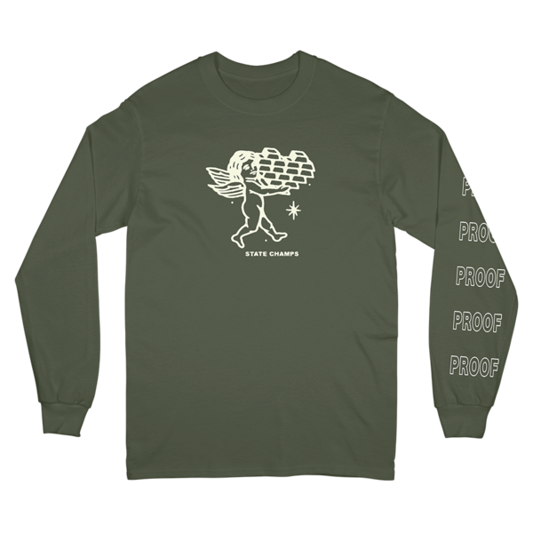 Pop Up Long Sleeve Tee - Hemp
