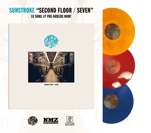Sunstroke-Second Floor/Seven lp