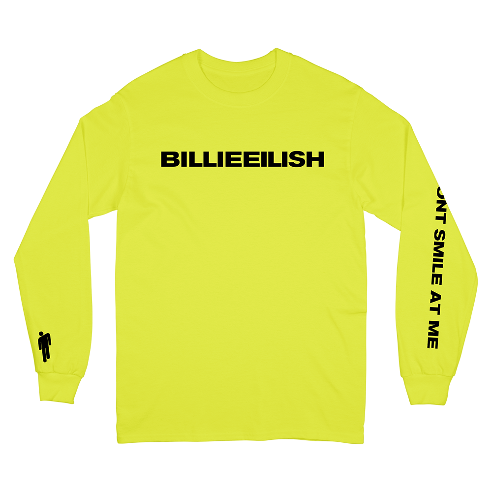 Yellow Long Sleeve Shirt