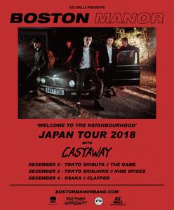 Boston Manor - Japan Tour 2018 Ticket