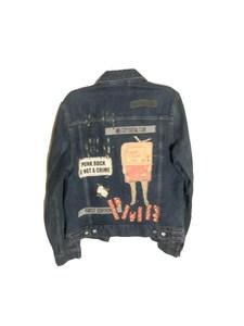 Rx Salvaged: PMA Denim Jacket (M)