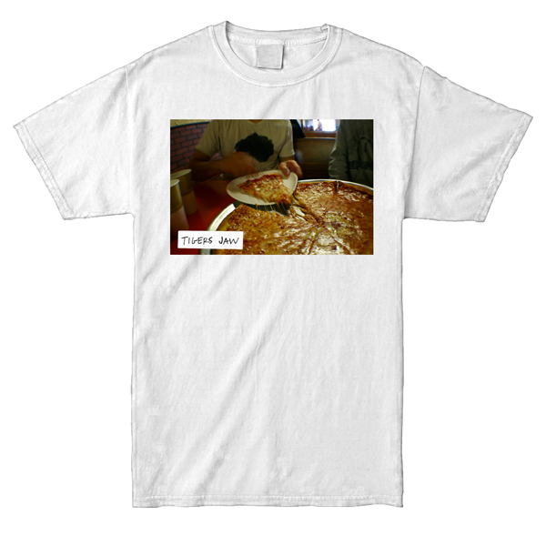 Tigers Jaw - Pizza Shirt (Full Color)