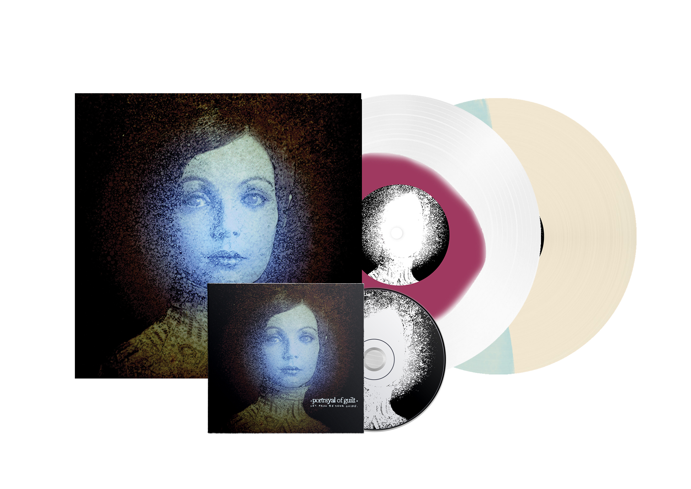 Portrayal of Guilt - 'Let Pain Be Your Guide' All Formats (both vinyl colours and CD)