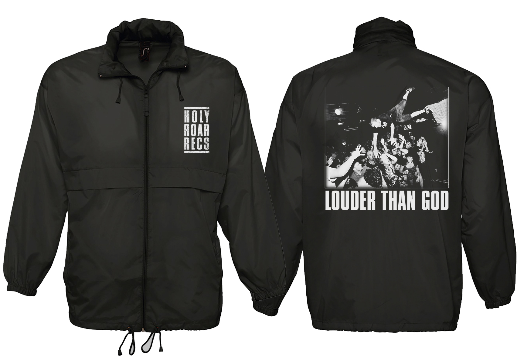 Holy Roar Records Windbreaker
