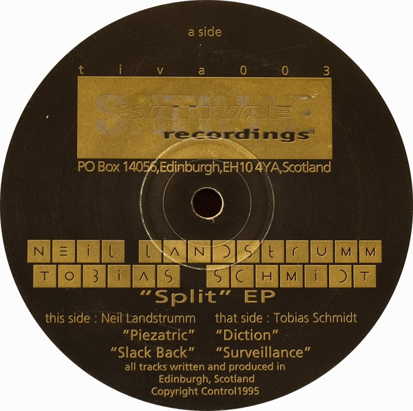 Neil Landstrumm / Tobias Schmidt – Split EP (Sativae Recordings)