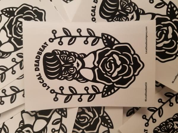 Peach Pit Vinyl Sticker Pack