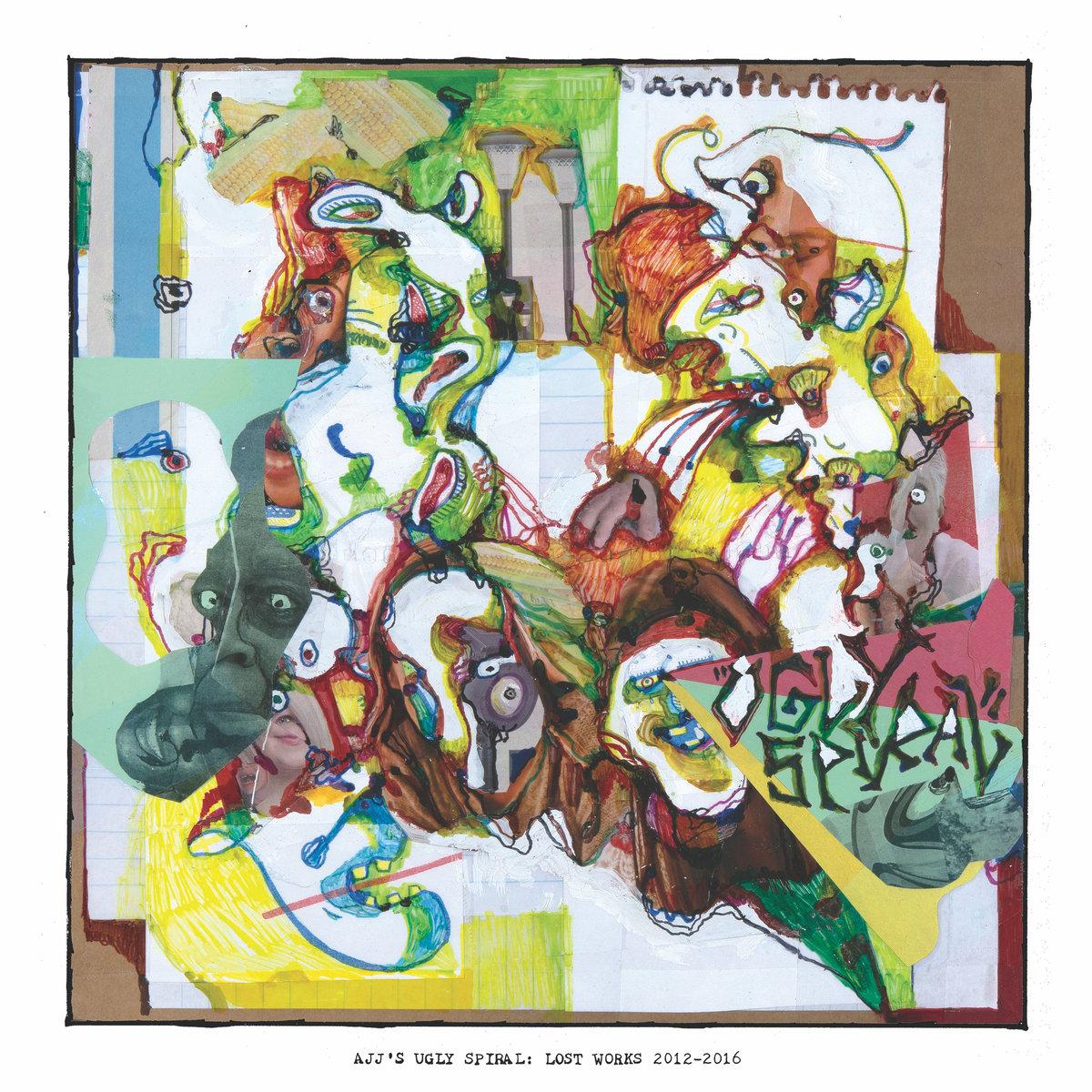AJJ - Ugly Spiral: Lost Works 2012-2016 LP