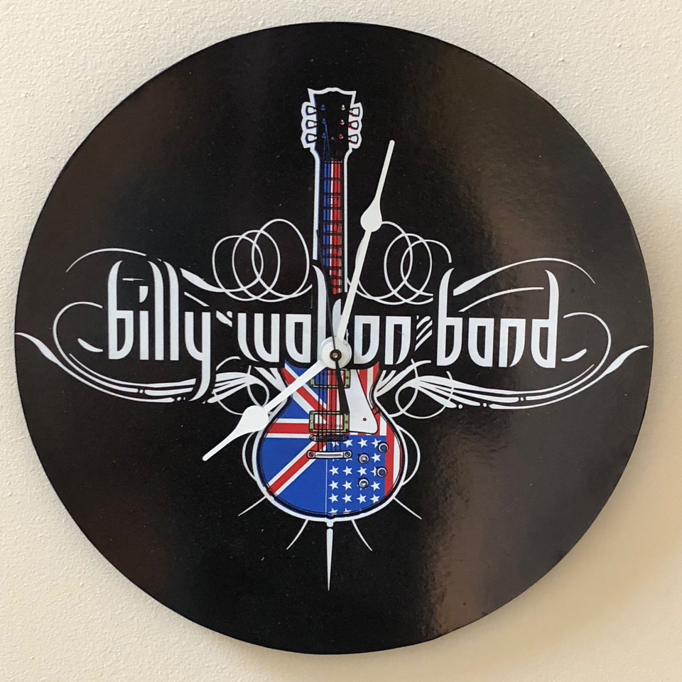 Billy Walton Band Clock
