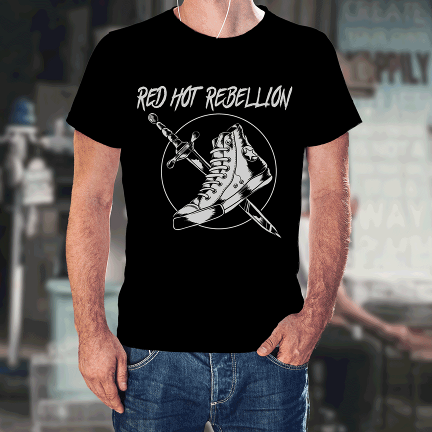 RHR Shoe Knife T-Shirt